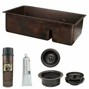 Premier Copper Products Ksp3_k70db33199-sd5 Kitchen Sink And Multi