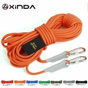 10m Professional Rock Climbing Cord Outdoor Hiking Accessories Rope 9.5mm