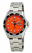 Secondhand Orient Faa02006m9 Diver Ray Raven Ii Automatic Winding Hand-wound Men