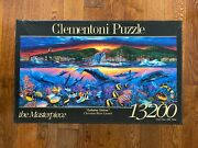 New Extremely Rare 13200 Clementoni Lahaina Visions Jigsaw Puzzle By Lassen