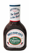 Sweet Baby Ray's Honey Chipotle Bbq Barbecue Sauce 18 Oz Rays