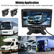 Wireless Ir Rear View Back Up Camera Night Vision System+7 Monitor Lcd Rv Truck