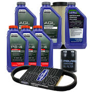 Polaris 3 Quarts Ps-4 Extreme Oil And Fluid Change Kit Air Filter And Belt Rzr Xp