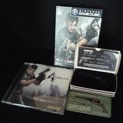 Resident Evil 4 Biohazard4 Game Cube Soft And Metal Gun Collection Magnum And Secret