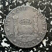 1765-mo Mf Mexico 8 Reales Lotjm3009 Large Silver Coin