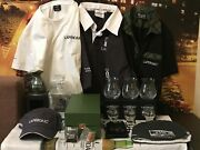 Laphroaig. Large New Original Merch Collection. Decanter, Glasses, Hats, Other