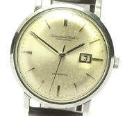 Schaffhausen Antique Cal.8531 Automatic Winding Mens Secondhand