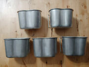 Lot Of 5 Original French Military Surplus Butterfly Canteen Cup Fits Usgi 568