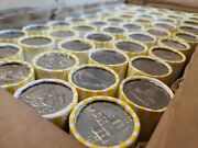 5 Rolls Us Coins Unsearched Half Dollar Bank Sealed Each Roll 10 Face Value