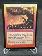 Mtg-1x-nm-mint English-anger Of The Gods - Foil-time Spiral Remastered