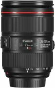 Secondhand Canon Ef 24-105mm F4l Is Ii Usm Standard Zoom Lens Camera Popularity