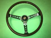 F.i.v. Secura Fiat 850 125 1100r And Others Wood Steering Wheel 258 Nos Rare