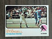 1973 Topps Willie Stargell 370 Pittsburgh Pirates