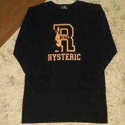Hysteric Glamour Hys Football Shirt Dress Long Length Womenand039s Tops Mf030