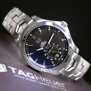 1-year Warranty Tag Heuer Link Caliber Wjf211a Automatic Winding Black Dial