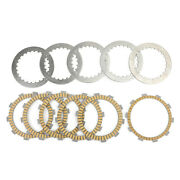 Clutch Kit Steel And Friction Plates Fit For Honda Crm125r Nsr125f Nsr125r Trx350