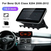 12.3android Car Gps Stereo Navi Player Video Carplay For Benz Glk X204 2008-12