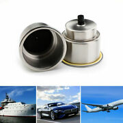 2x Brushed Stainless Steel Cup Drink Holders Fits Marine Boat Truck Camper Rv