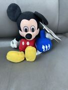 Disney Store 8 Inch Dreidel Mickey Mouse '99 Bean Bag Plush With Tag