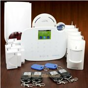 Homsecur Wireless Wcdma Rfid Home House Alarm System With Wireless Flash Siren