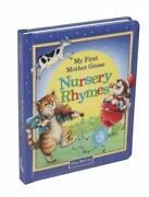 My First Mother Goose Nursery Rhymes Hardcover By Mccue Lisa Ilt Like Ne...