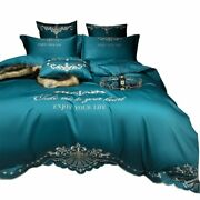 Bedding Set Smooth Soft Cotton Romantic Bedroom Cover Sleeping Breathable Home
