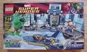 New Lego Super Heroes Hulk's Helicarrier Breakout 6868 Factory Sealed Mint Mimb