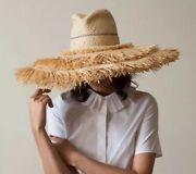 Lola Hats Coconut Raffia Frayed Straw Sun Hat Sold Out