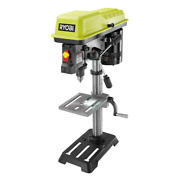 Ryobi Drill Press 10 In. 120-volt 3050 Rpm Built-in Light Portable With Laser