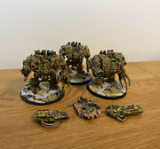 Warhammer 40k - Forgeworld - 3x Chaos Space Marines Nurgle Dreadnought - Oop