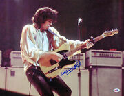 Keith Richards The Rolling Stones Authentic Signed 16x20 Photo Psa/dna Aa01920