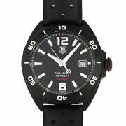 Tag Heuer Formula Caliber Full Black Ss/rubber Waz2115.ft8023 Menand039s Watches