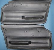 New Nos 1967 Corvette Coupe Door Panels Black, In Stock And Ready To Ship 67