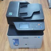 Samsung Sl-c1860fw Wireless Color All In One Printer Scanner Fax Copier Used