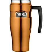 Thermos 470ml Stainless Steel Copper King Travel Mug Vacuume Flask With Handle