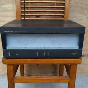 Panasonic Technics Se-a5 Stereo Power Amplifier Vintage Junk As Is From Japan
