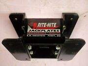 Rite-hite 8 Inch Outboard Jack Plate New Old Stockandnbsp Made From Aircraft Aluminum