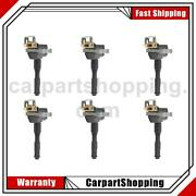 6 Bosch Ignition Coil For Bmw 325i