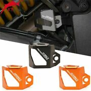 Adventures All Years Motorcycle Rear Fluid Reservoir Guard Cover Protector