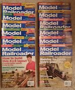 Model Railroader 2006-all 12 Issues In Fine Condition