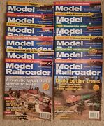 Model Railroader 2007-all 12 Issues In Fine Condition
