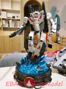 Robotech Vf-1j Human Combat Form 52.4cm Limited Edition Statue In Stock New