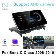 Android Car Gps Player Video Navi Wifi Auto Carplay For Benz C Class 2008-2010