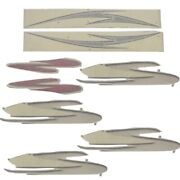 Four Winns Boat Hull Decal 055-3504 | Gray Black Red White Set Of 8