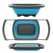Colander Strainer Over The Sink Food Colanders Strainers With Extendable Handles
