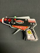 Lion Tin Toy Space Age Ray Sparkling Gun Tested Loose