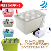 Plant Cloning System Hydroponic Kits Grow Clone Dwc 6 Site Deep Water Cultures