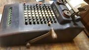 Antique Victor Adding Machine With Subtraction And Repeat.