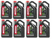 Motul 104083 5100 4t 15w50 Synthetic Blend Motorcycle Oil - 4-liters Pack Of 8