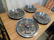 Nos 1970-71 Ford Mustang Torino 14 Wheel Covers Hubcaps Mach 1 Boss 302 70 1971